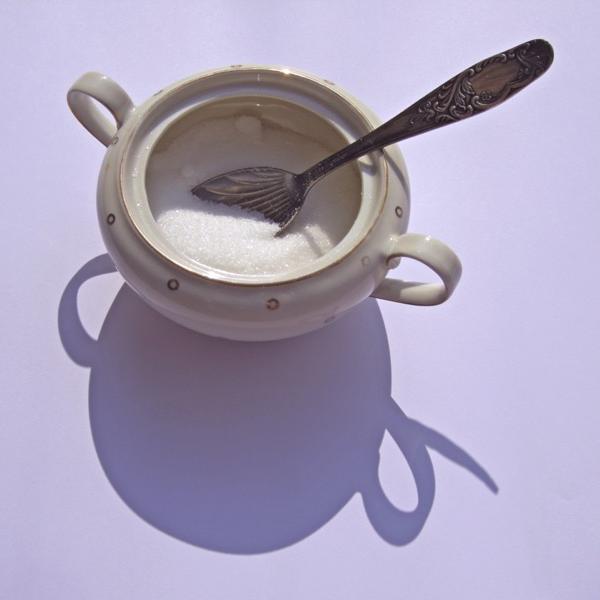 Zuckertopf mit Schatten · 25. Juli 2010