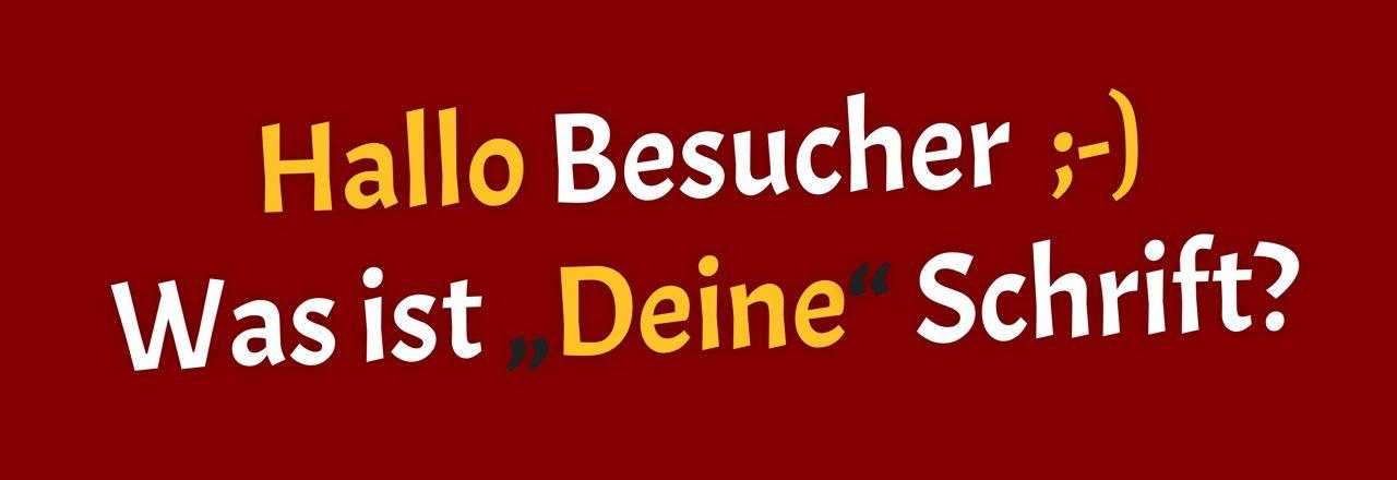 """Schriften – ohne """"CDN"""" – direkt laden"""